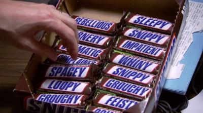 Voor elke bui een Snickers