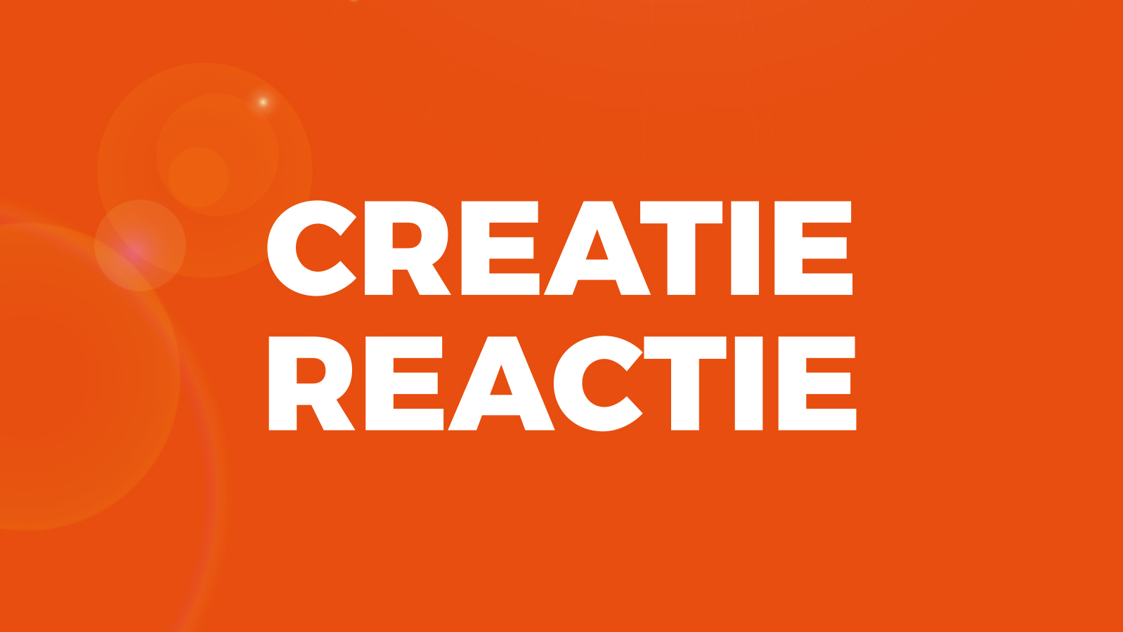 Creatie heeft reactie nodig